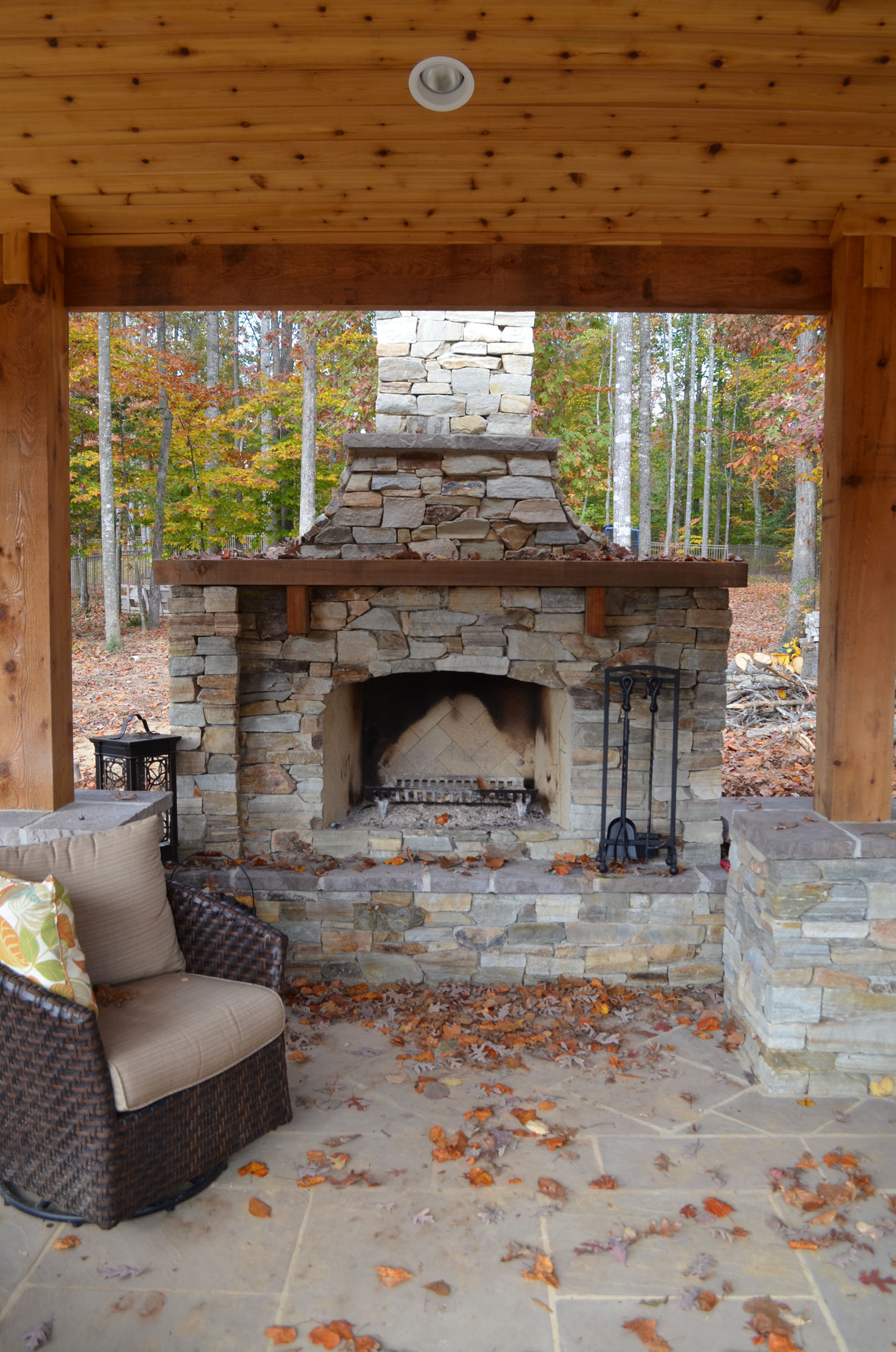 fredericksburg landscaping outdoor fireplaces kitchens pool