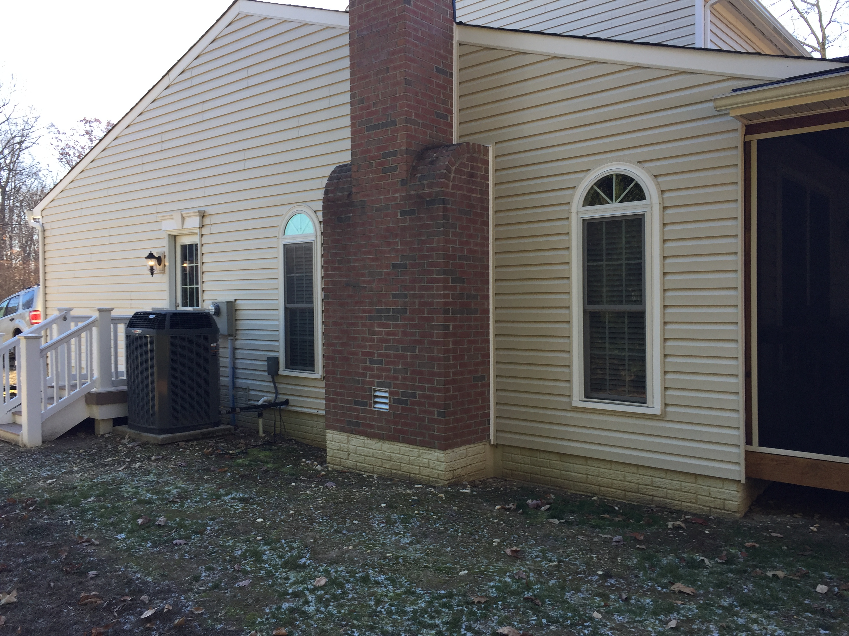 Simple Drainage Fix in Fredericksburg, Virginia
