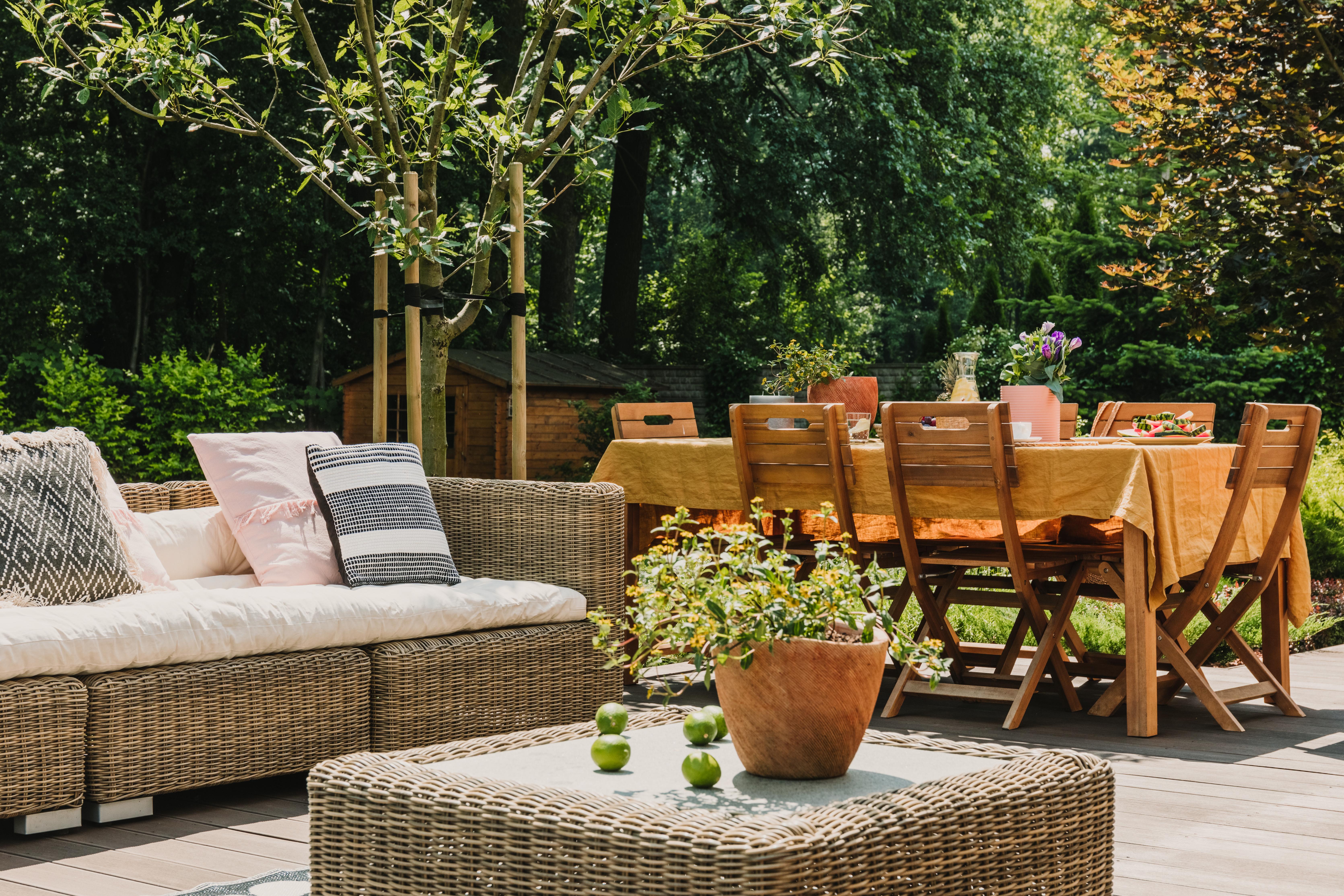 Bringing Interior Decorating Outdoors Greensward Llc