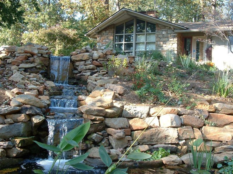 Waterfall garden greensward llc for Landscaping rocks northern virginia
