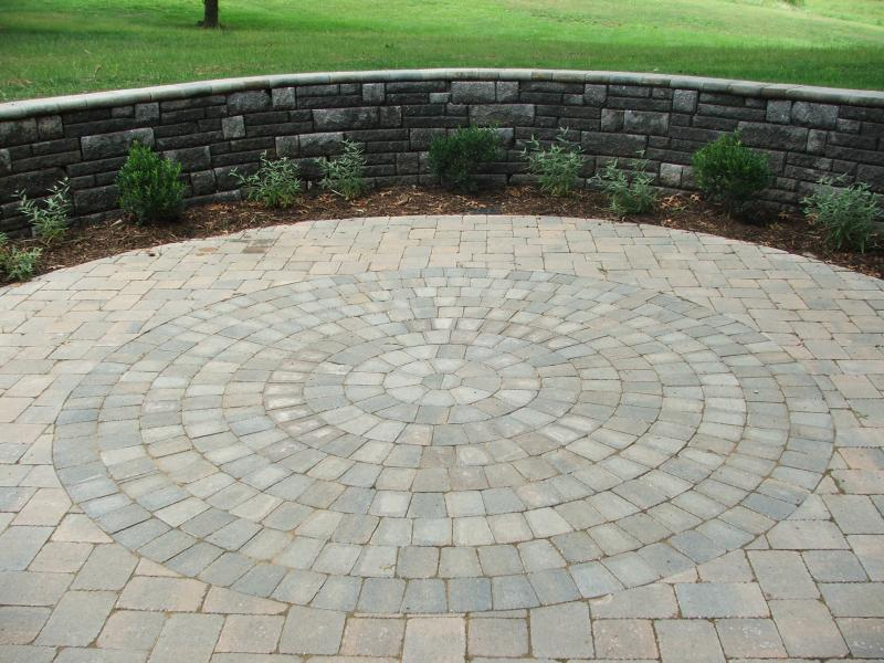 Example of Circle Kit Patio