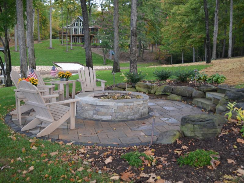 Mineral, VA Lake Anna Backyard Landscaping