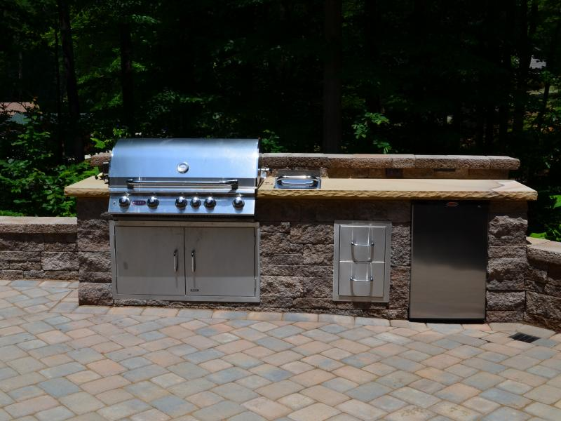 Outdoor Kitchen- Lake Anna