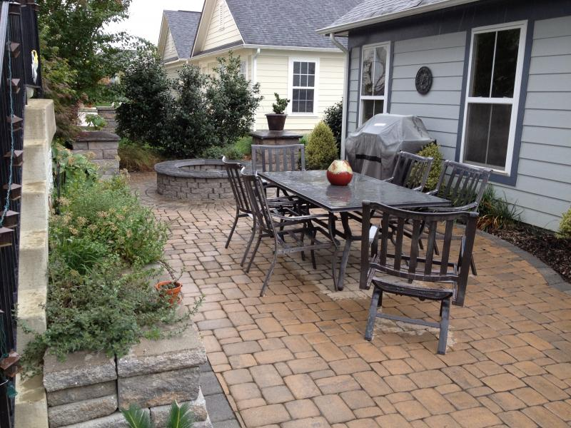 Small Patio and Firepit