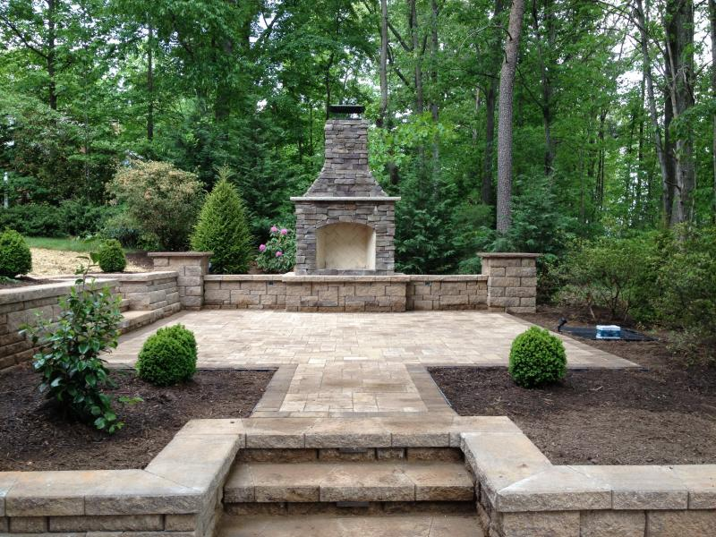 Outdoor Fire and Patio- Culpeper, VA