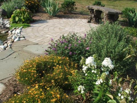Perennial Garden Designed by Andrew Cutright